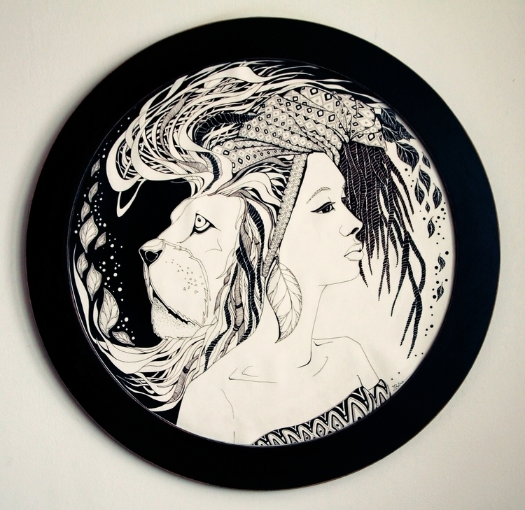Instinct - ink, illustration, traditional - ioanaz | ello