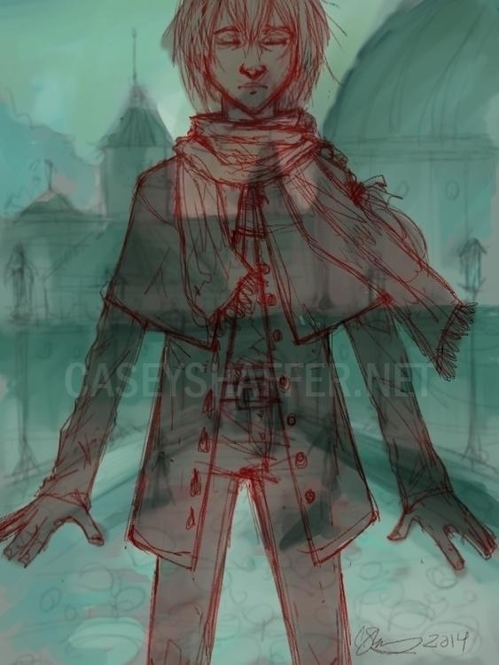Camden Skye (OC - enigma, digitalart - thecapturedspy | ello