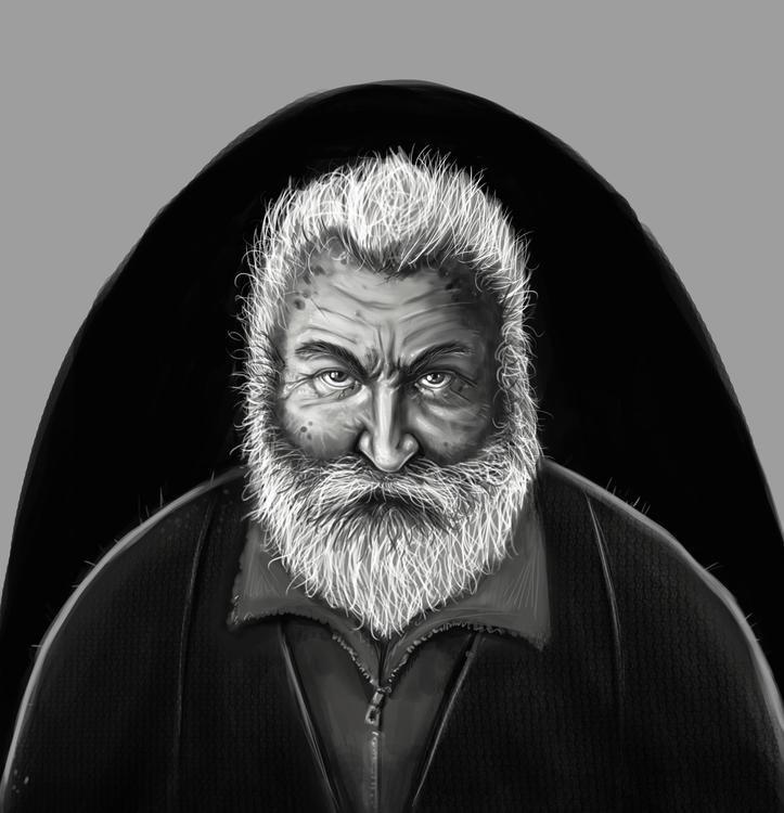 man Quick paint - illustration, portrait - bryanmahy   ello