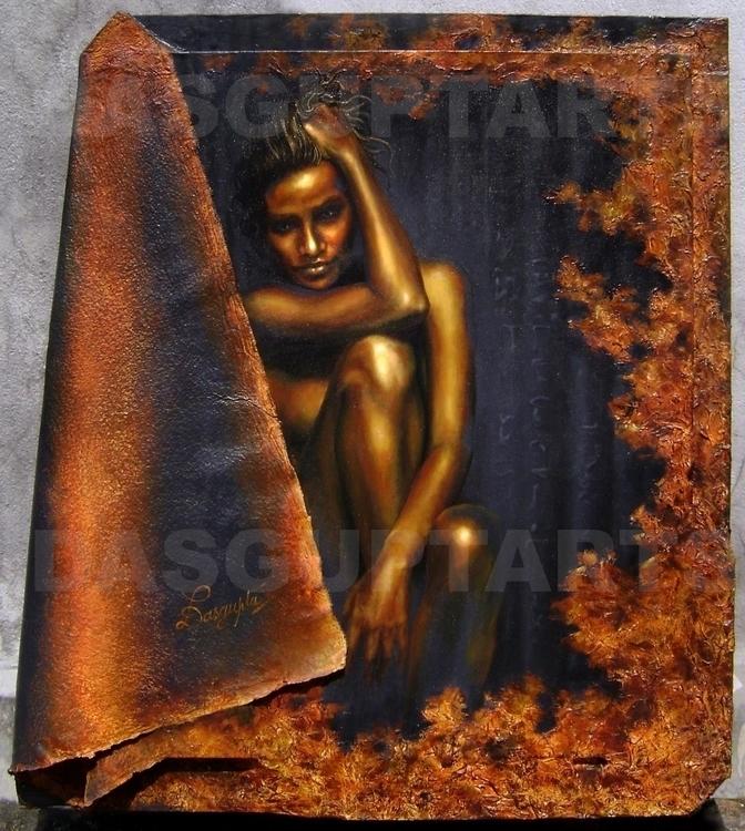 Acrylic Painting - dasguptarts | ello