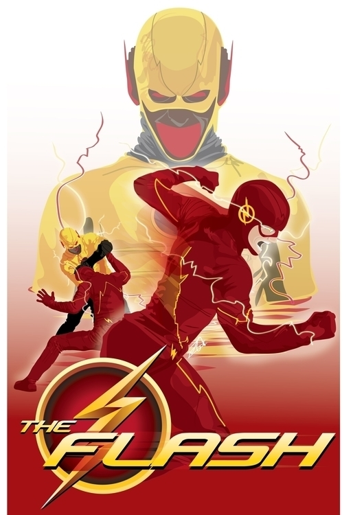 Flash - Poster created adobe il - jessieg-1223 | ello