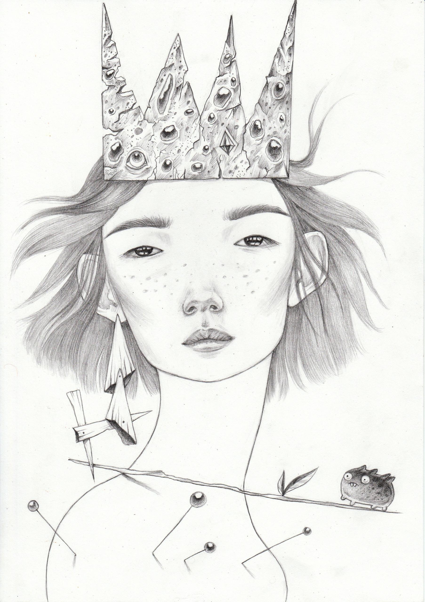 Young - illustration, characterdesign - shpadyreva | ello