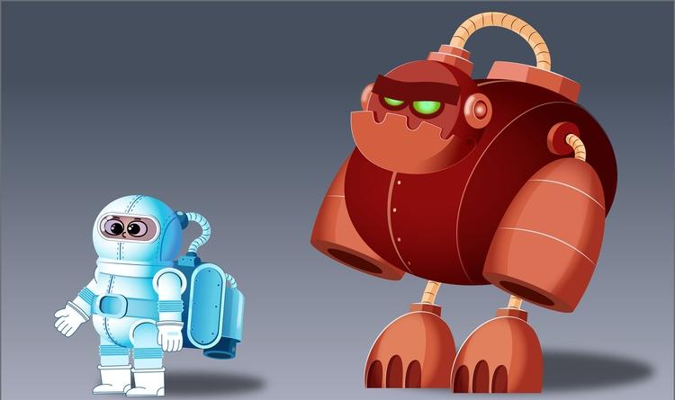 Character Design - gameart, characterdesign - somayeh-1319 | ello