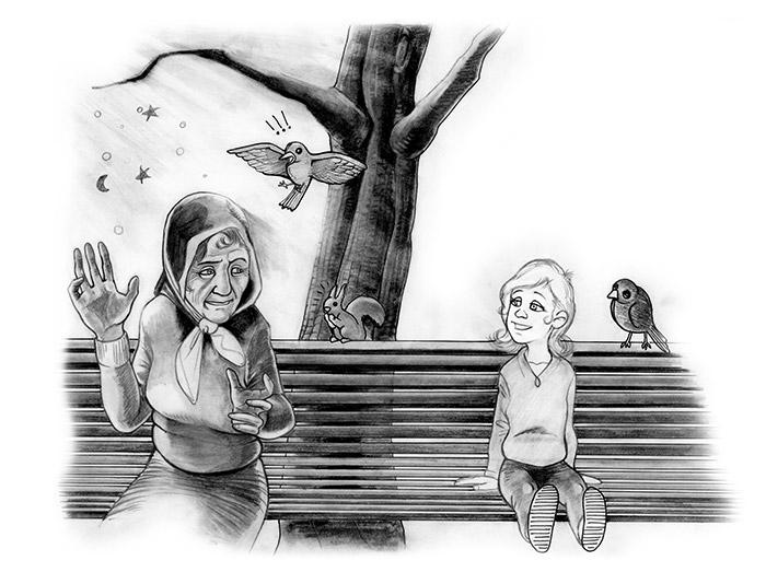 tale great Grandma. book 4 favo - comicsoon | ello