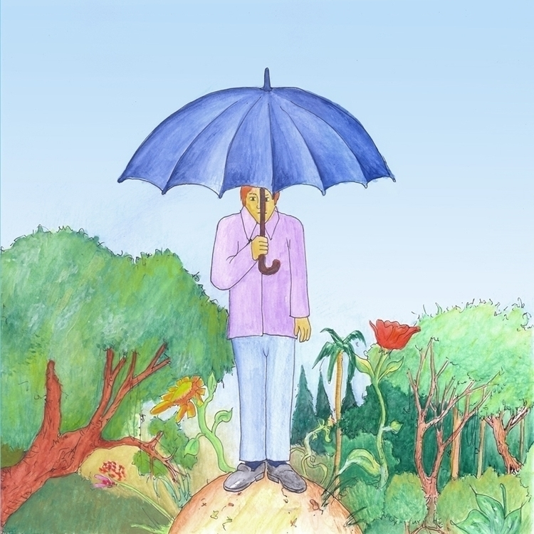 Umbrella - illustration - juliocgrio | ello