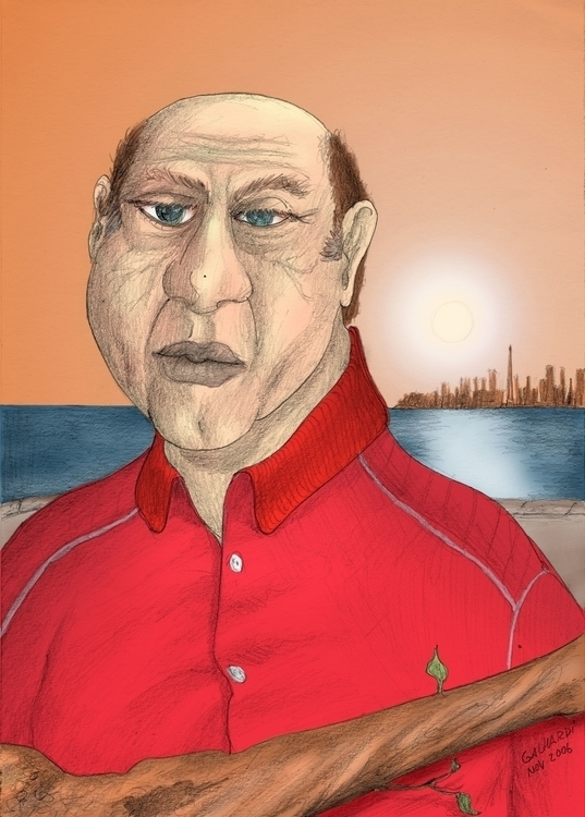 Portrait - illustration - juliocgrio | ello