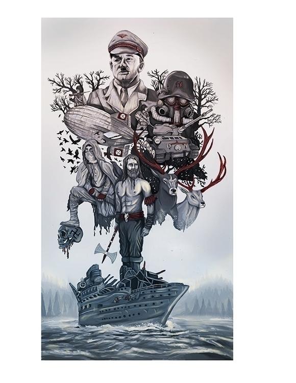 illustration, poster, art, conceptart - ricardomacia | ello