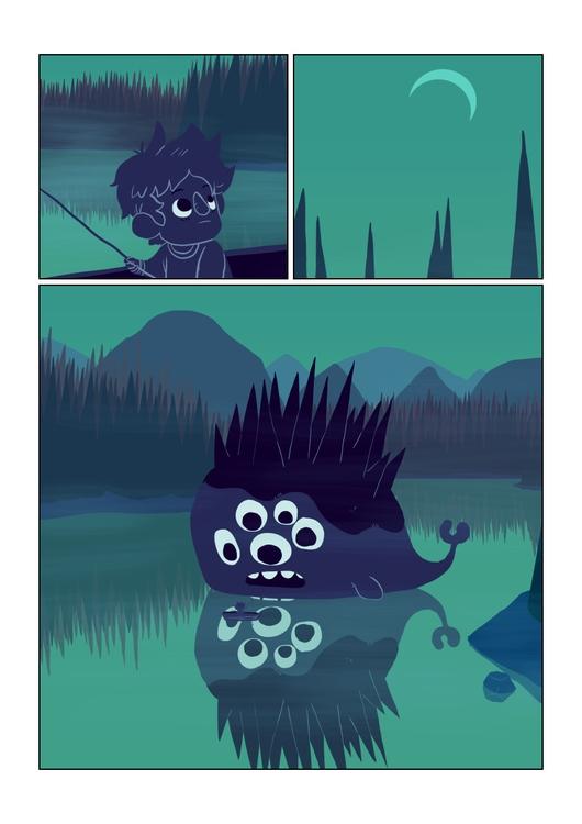 page 2 - wanderer, comic, fishing - indiana_jonas | ello