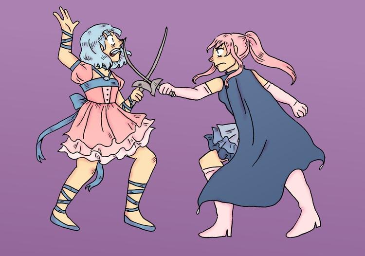 magical girls - magicalgirl, mahoushoujo - norathebean | ello