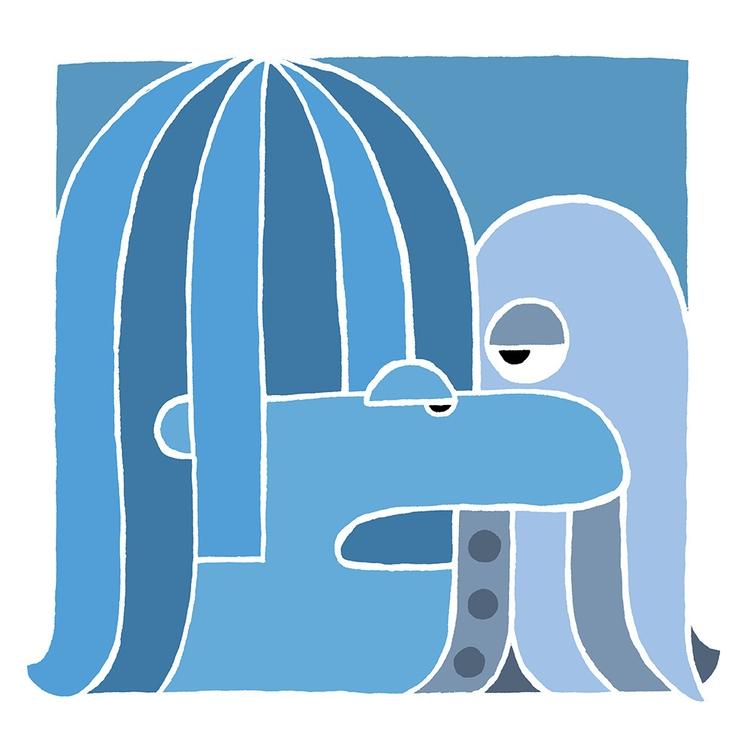 illustration, beatles, octopus - buchino-1190 | ello
