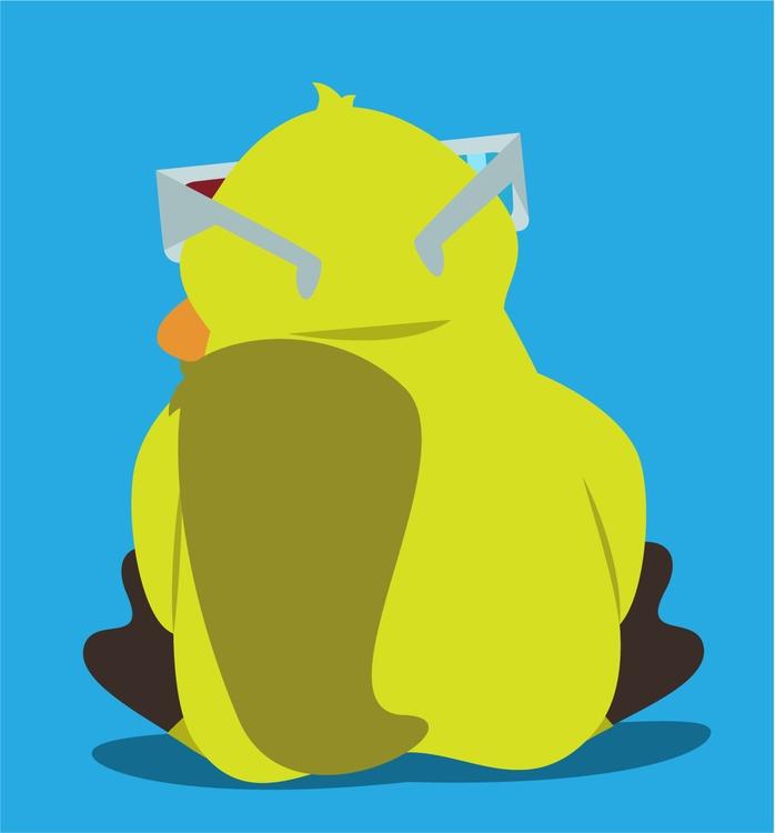 Gente Estranha BLOG mascot (2 - illustration - danperin | ello