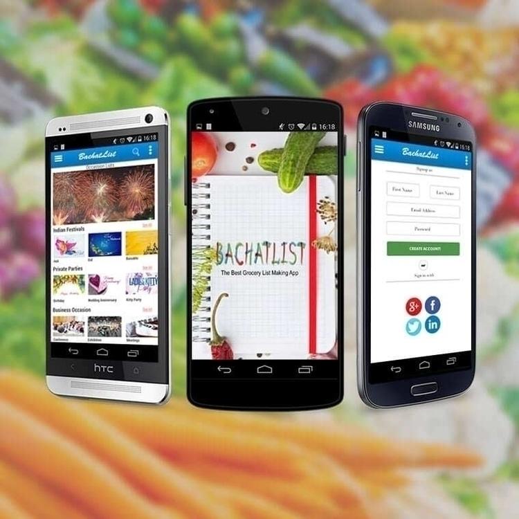 BachatList App - illustration, design - nztsolutions | ello