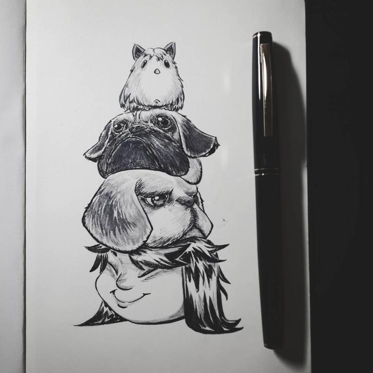 doodles, sketch - wmyeong | ello