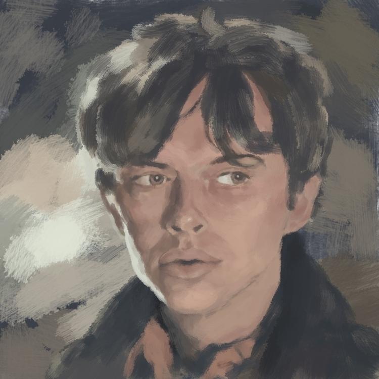 Dane DeHaan - digitalart, portrait - prianikn | ello