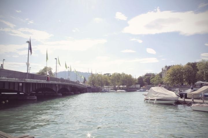 Limmat River | Zurich - zurich, switzerland - joanasantos | ello