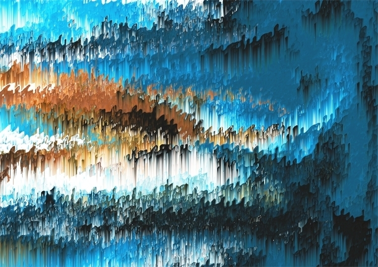 10. Blue Forest Shades - painting - raphaelsinclair   ello