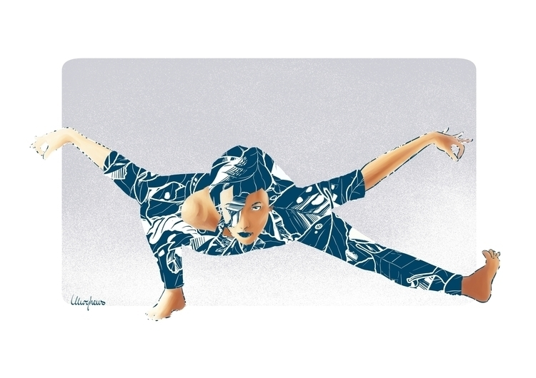 yoga - yogaart, yogadesign, illustration - mph-7337 | ello