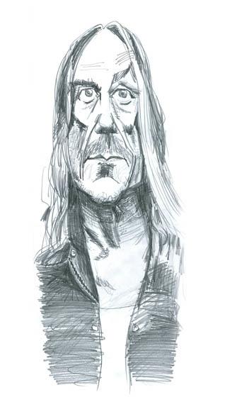 thought nab. caricature Iggy Po - stephencase | ello