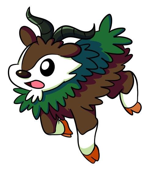 Skiddo - skiddo, pokemon - flowerbanana | ello