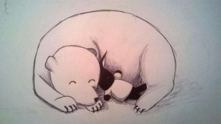 sketch, illustration, ink - sarahallis | ello