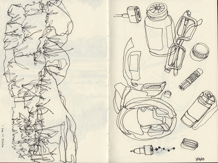 drawings - study, sketchbook - linbhu | ello