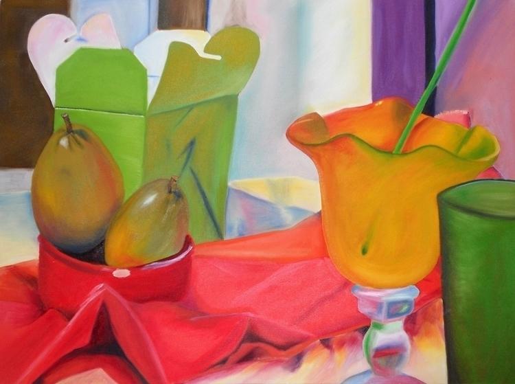 painting, oiloncanvas, stilllife - sarahallis | ello