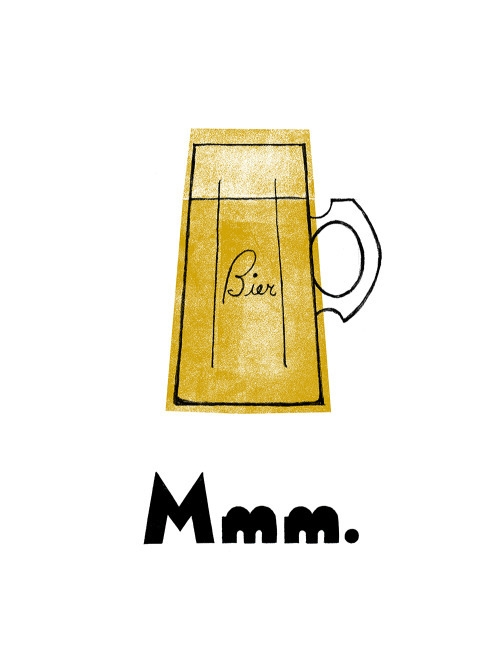 mmmbier, beer, bier, screenprint - buchino-1190 | ello