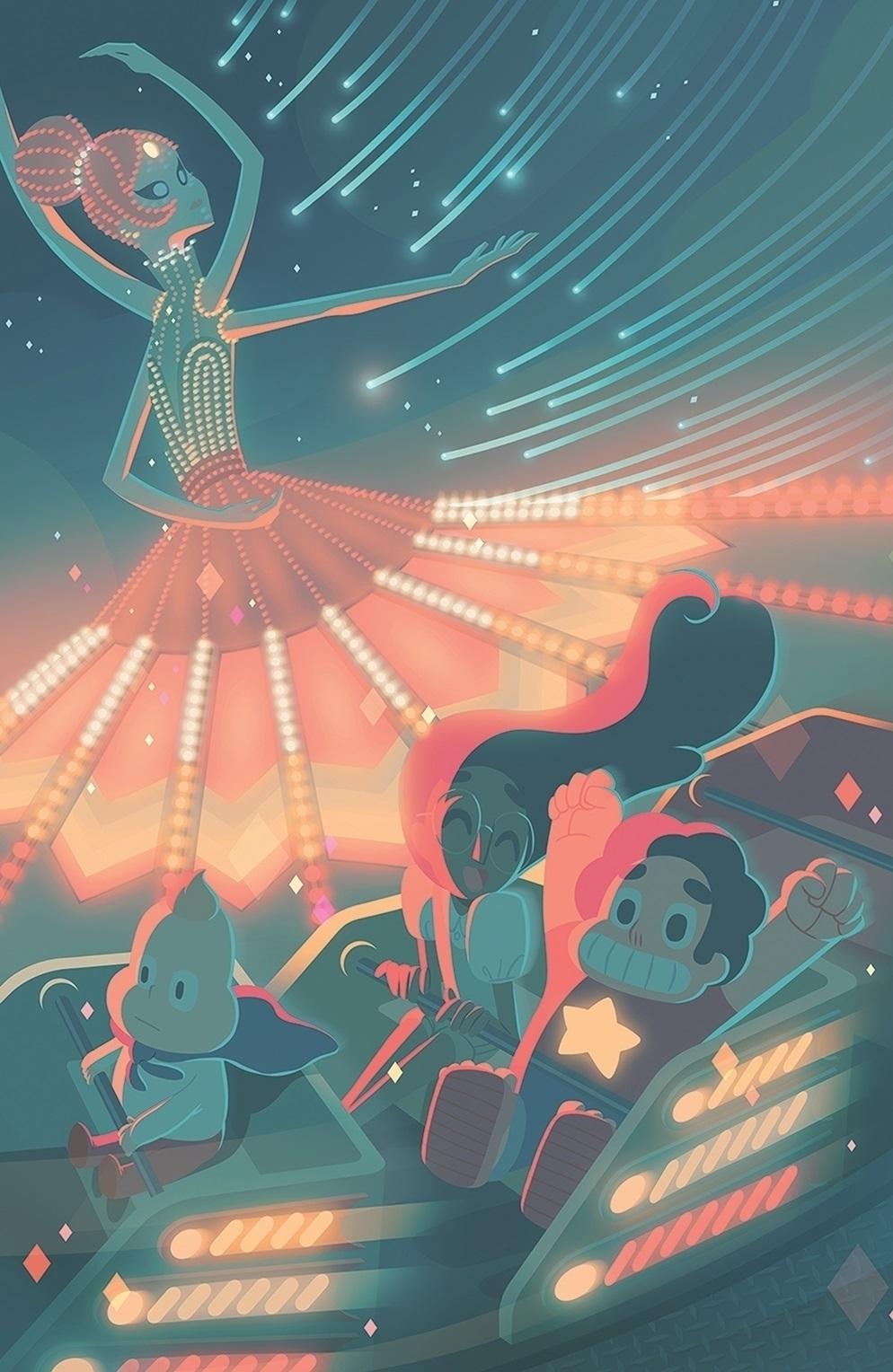 Cover Steven Universe issue - 3 - caltsoudas | ello