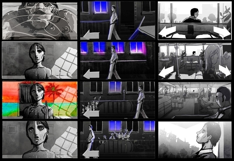 Serial Storyboard Directed Wim  - yourizered | ello