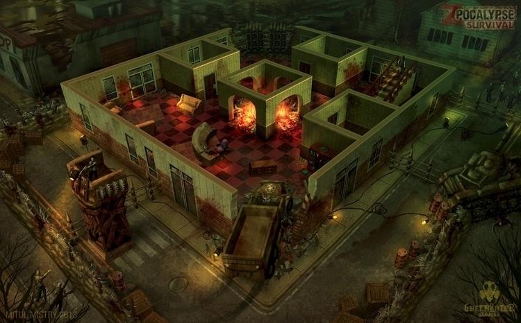 Zpocalypse Survival environment - mitulmistry | ello