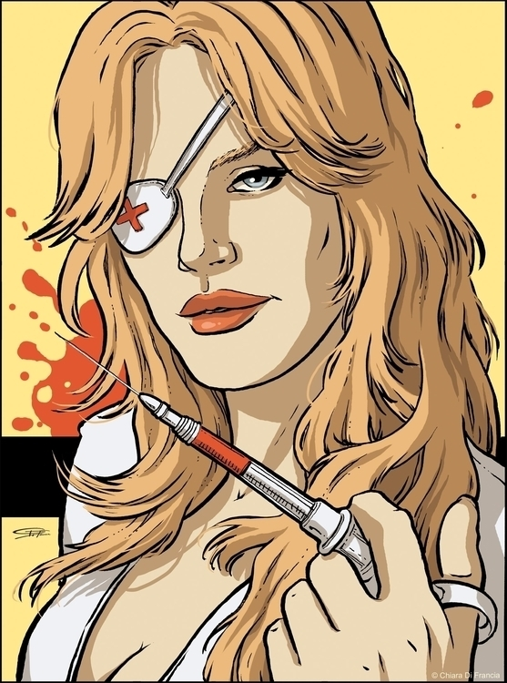 Elle Driver Kill Bill - Art Com - chiaradifrancia | ello