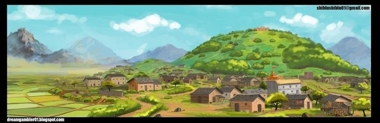 BG Painting - painting - shibiliponnani | ello