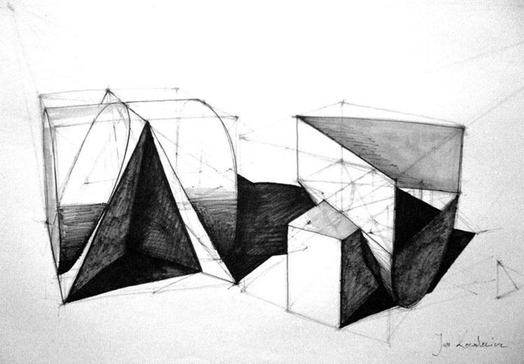 Geoms Tria Markers, B2 - geom, geometry - jandraws | ello