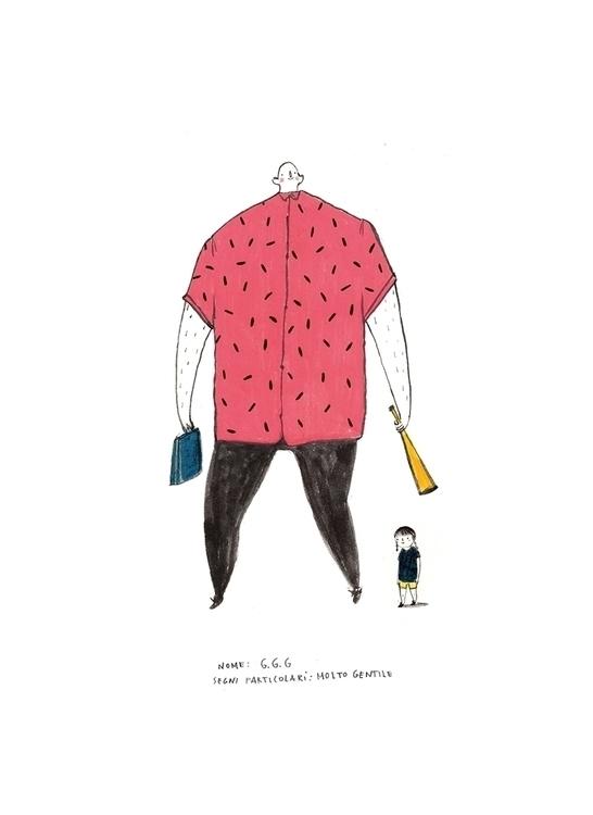 GGG - illustration, children'sillustration - mariannacoppo   ello