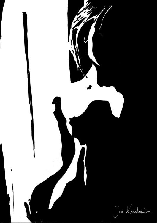 Nude Black marker + finelinear - jandraws | ello