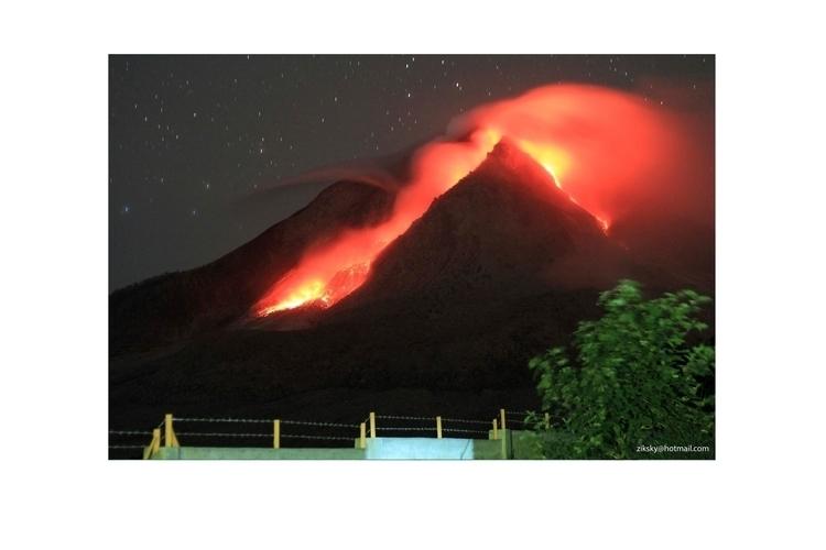 Mount Sinabung Volcano - photography - ziksky | ello