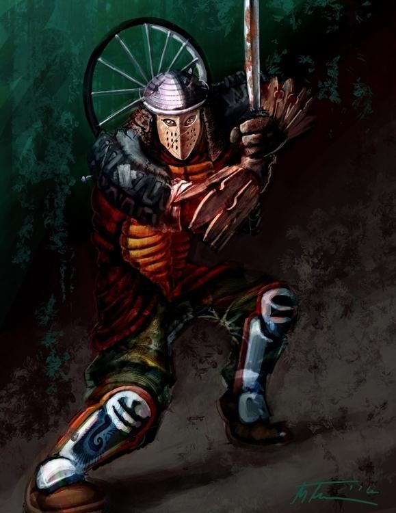 Post Apocalyptic Samurai - mthacker | ello