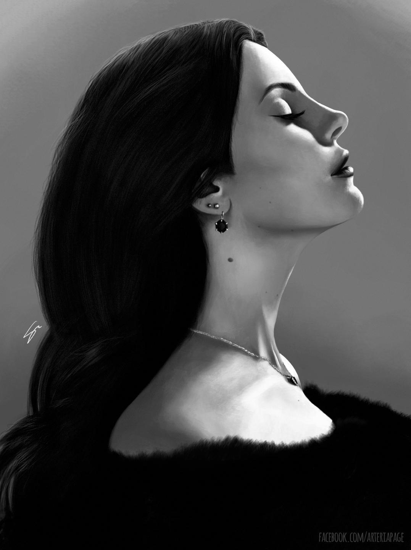 Lana Del Rey - 02, lanadelrey, digitalart - stellamorato   ello