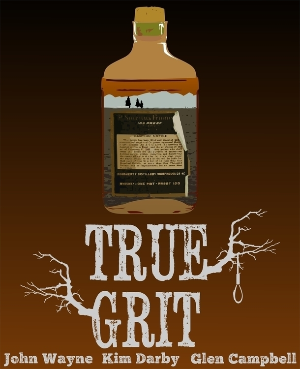 True Grit (movie Poster - truegrit - scottnoble-7012 | ello