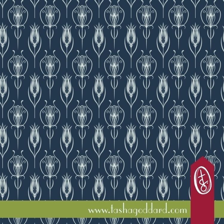 Turkish Baroque pattern created - tashagoddard | ello