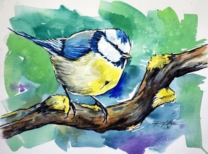 Untitled - watercolor - rlnelsonmo | ello