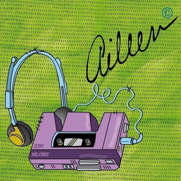 de Walkman - vintage, walkman, music - aileencopyright | ello