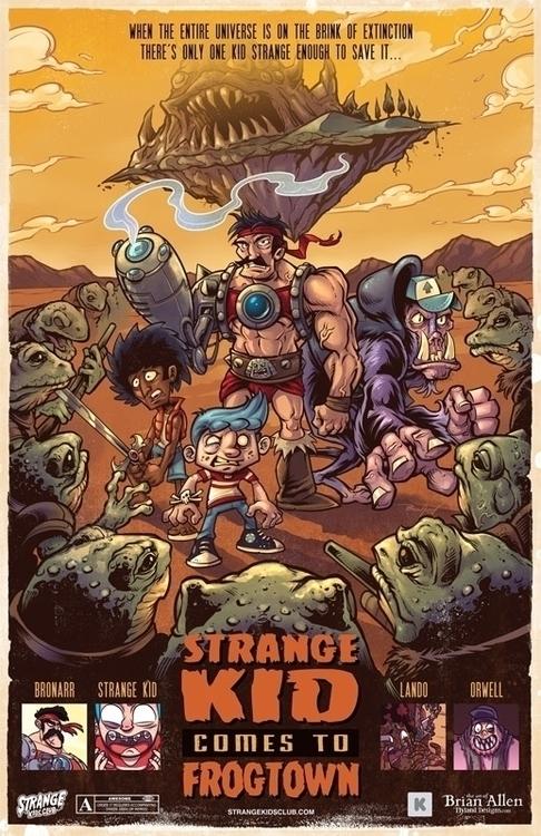 hired Strange Kids Club Magazin - flylanddesigns | ello
