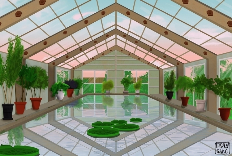 Greenhouse Behance Instagram - eraygakci | ello