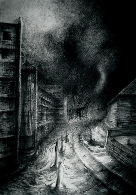 apocalypse - illustration, drawing - anna_warzecha | ello