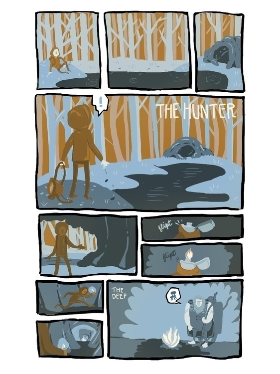 1 page intro - comics, comic, characterdesign - cjwords | ello
