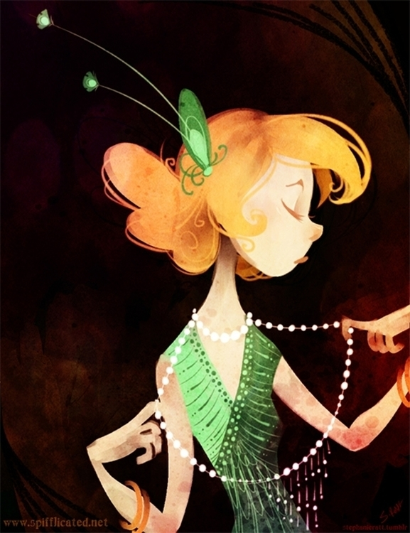 Glitters 1 - flapper, girl, jazz - stephanierat | ello