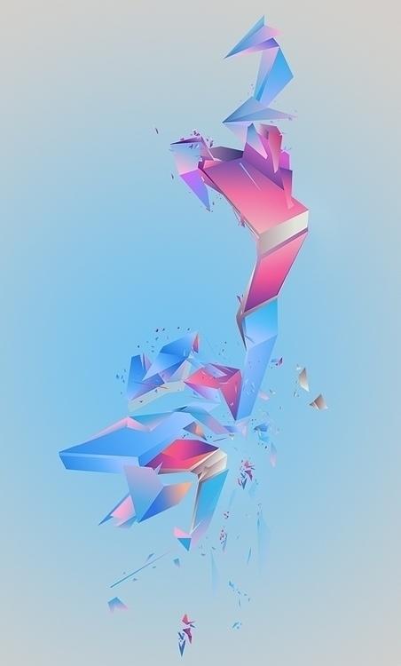 abstract piece fun Check detail - atsukosan-3588 | ello