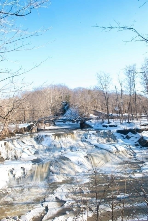 Paine Falls winter - painefalls - angelasabetto | ello