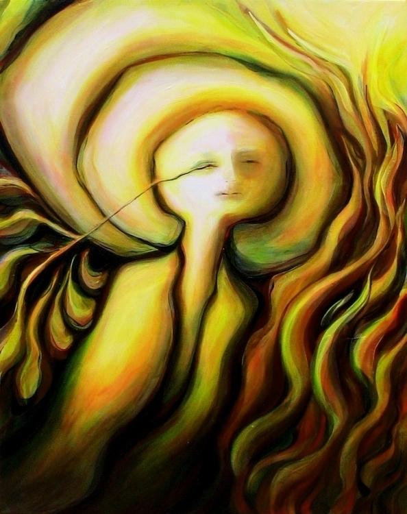 :copyright:2011, Acrylic Canvas - terrebritton | ello